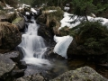 Nízké Tatry, potůček Zadná voda, Slovensko