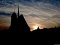 Silueta - kostel v Doubravníku
