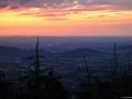 Po západu slunce, Pustevny, Beskydy.