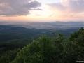 ...pohled z maďarského kopce Ágasvár...