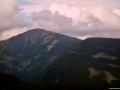 Naše nejvyšší hora Sněžka 1603 m n.m.