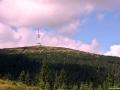Nejvyšší hora Jeseníku a zaroveň i celé Moravy, Praděd měřící 1491 m n.m.