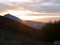 Západ slunce pod nejvyšší španělskou horou Pico del Teide 3718 m n.m. na největším z Kanarských ostrovů na Tenerife.
