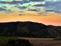 ...po západu slunce nad Svrateckou hornatinou...