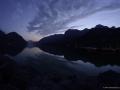 Rakouské horské jezero Grundlsee