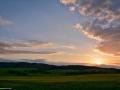 ...západ slunce... (Jinačovice - Kuřim)
