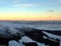 Paragliding, Nízké Tatry, Slovensko.